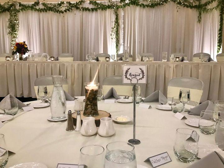 Elegant event embellished with florals