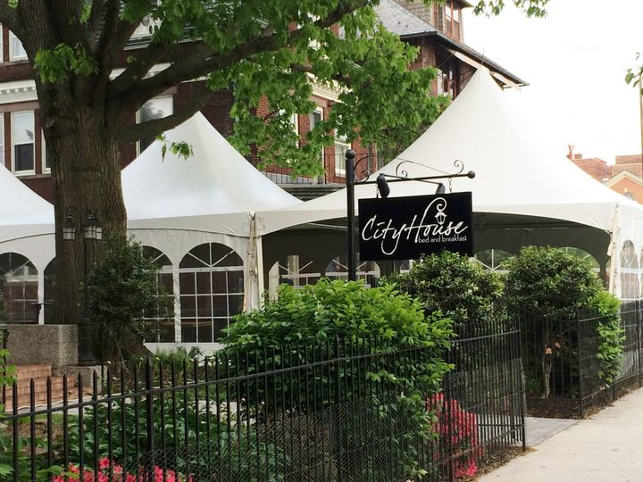 City House B&B is perfect location for an intimate indoor or outdoor event.