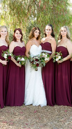 July bridal party