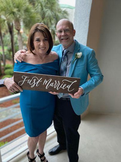D & M - Husband & Wife!