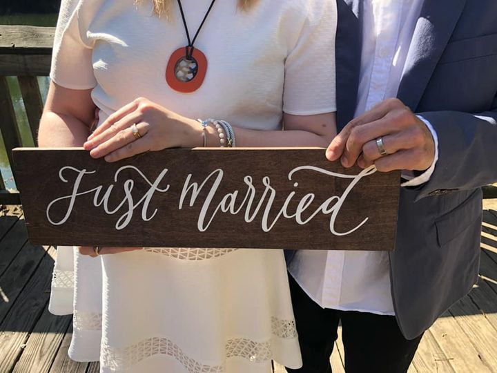Just Married J & J
