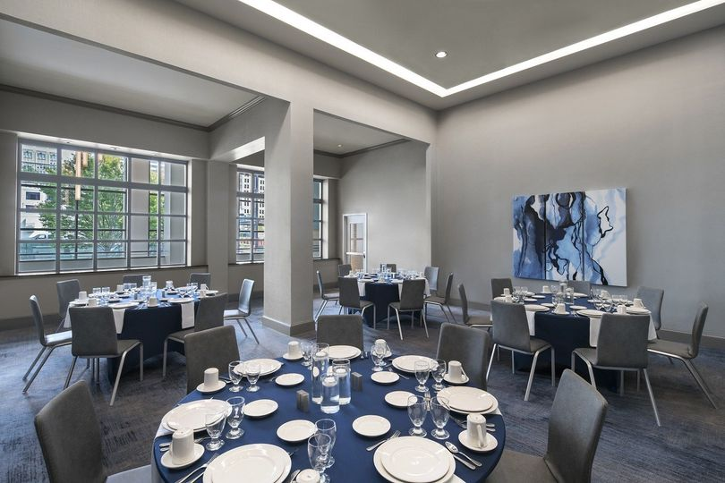 Capitol Room features 14 foot ceilings with generous natural light. This intimate space is perfect...