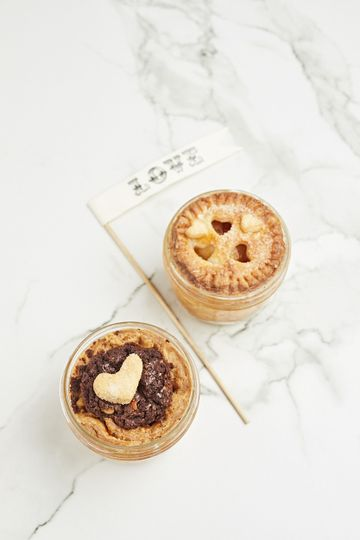His & Hers Mason Jar Pies