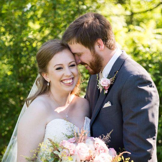 The groom in love