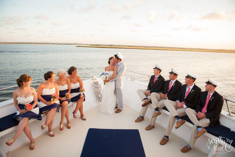The Carolina Girl Yacht Venue Charleston SC WeddingWire