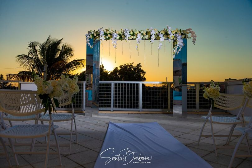 Sunset Rooftop Ceremony