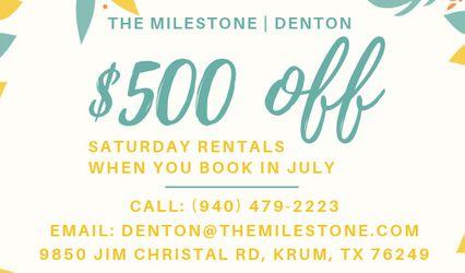 The Milestone Denton 1