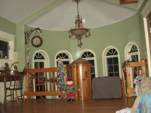 Honeymoon Suite at Christmas Time