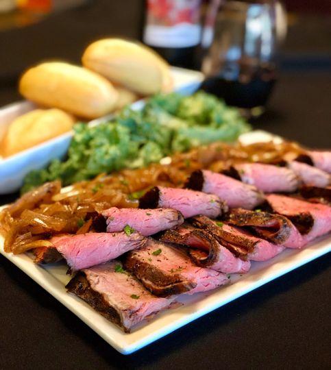 Flank Steak Sliders