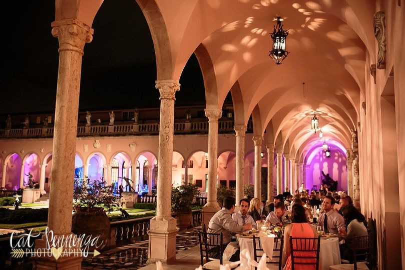 Outdoor Reception at Ringling