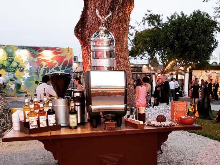Tmx 1536069162 425cdd151403c872 1536069161 8d8b5a726028f7b6 1536069159573 5 Coffee Cart 8 Miami, Florida wedding catering