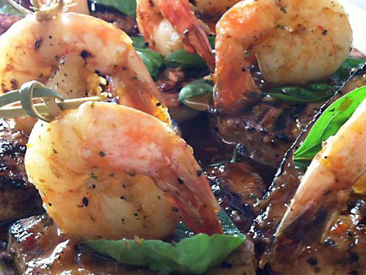 Tmx 1447107453381 Entree Shrimp On Meat Lancaster wedding catering