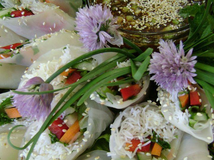 Tmx 1447107763010 Hors Spring Rolls Lancaster wedding catering