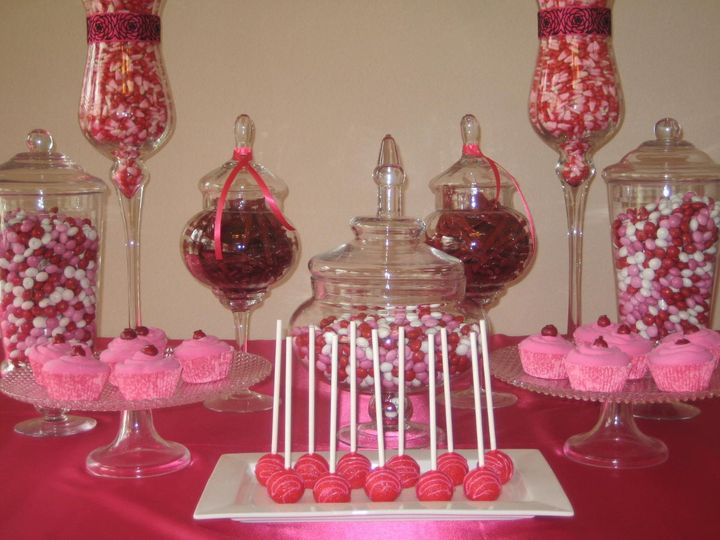 On Display Candy Buffet And Food Display Rentals Event