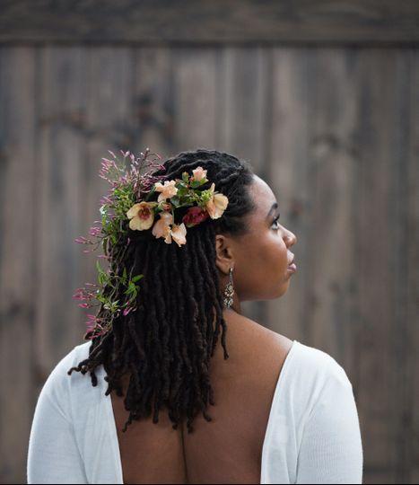 Locks and flowers