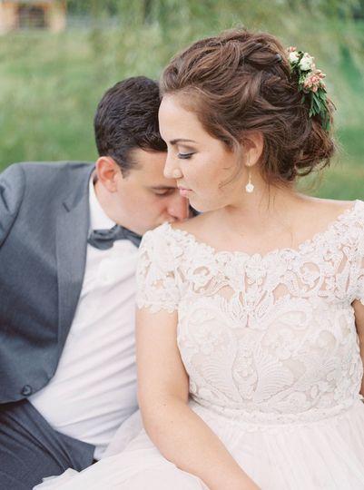 Bride and groom | Photo Credit: Amanda Berube