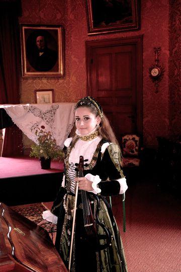 Euterpe Paris Violnist Wedding