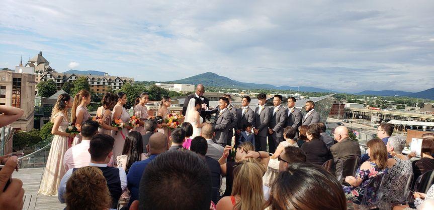 Wedding in Virgina