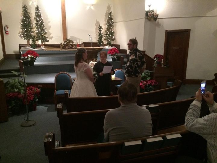 Tmx Intimate Wedding At Immanuel Baptist Church 51 45170 1557620520 Anoka, MN wedding officiant