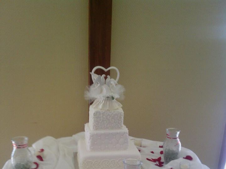 Tmx 1389792848675 8570973770836808540389356524 Vero Beach wedding cake
