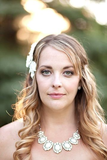 Mandee wanted a romantic, classic look to go with her beautiful rustic mountain wedding. I used some...