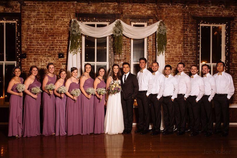 sp memphis ballroom wedding