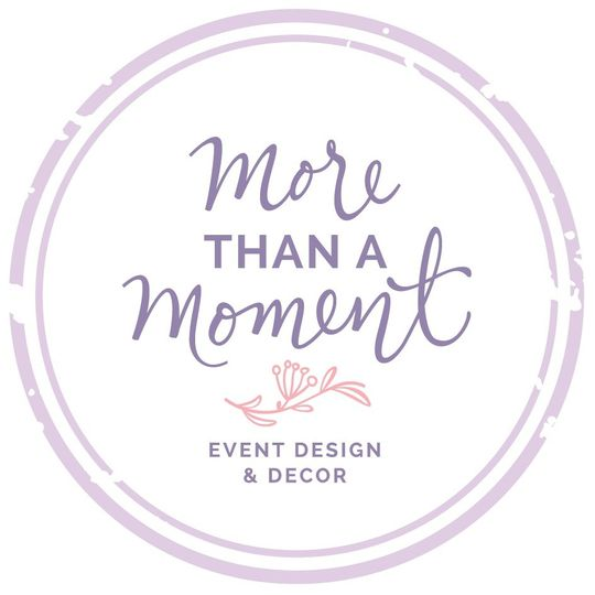 More Than A Moment Event Design & Decor
