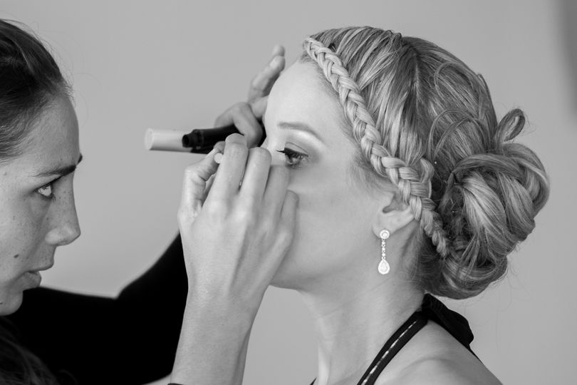 The Getting ready of Bride.