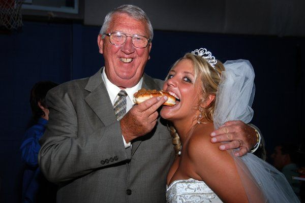 Heather always said she would have Joe's (Easley, SC) hot dogs at her reception...and she did!!!