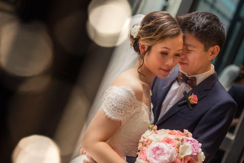 State Room Wedding couple