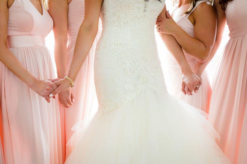 Belle Mer Wedding Bridesmaids