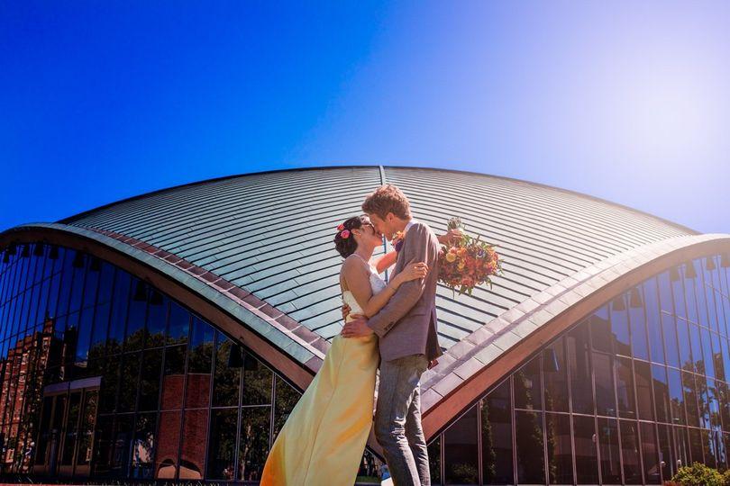 MIT Wedding Couple