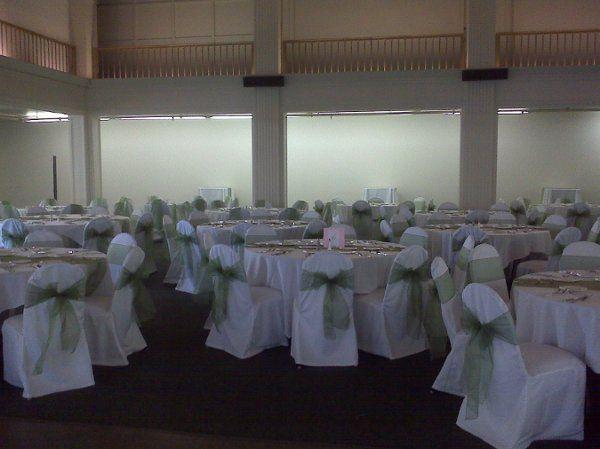 Light green sashes