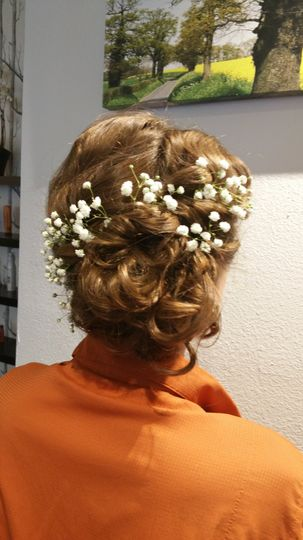 Hair Trail for Bride