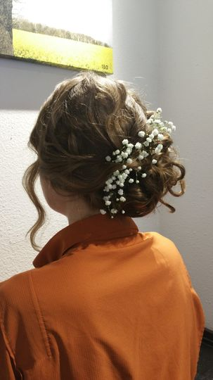 Hair Trial for bride
