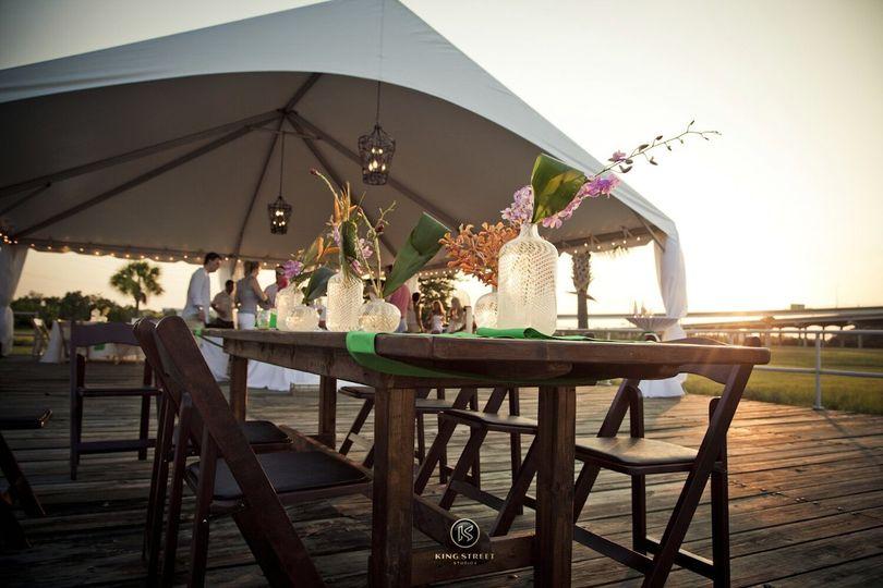 Atlantic Tent Event Rentals Charleston Sc Weddingwire