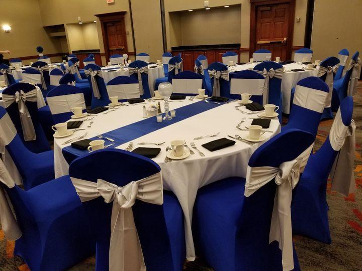 Blue Reception