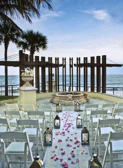 Oceanfront Wedding Ceremony