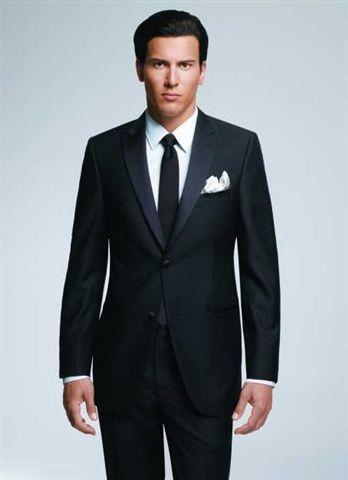 Jack Victor 2 button peak lapel tuxedo