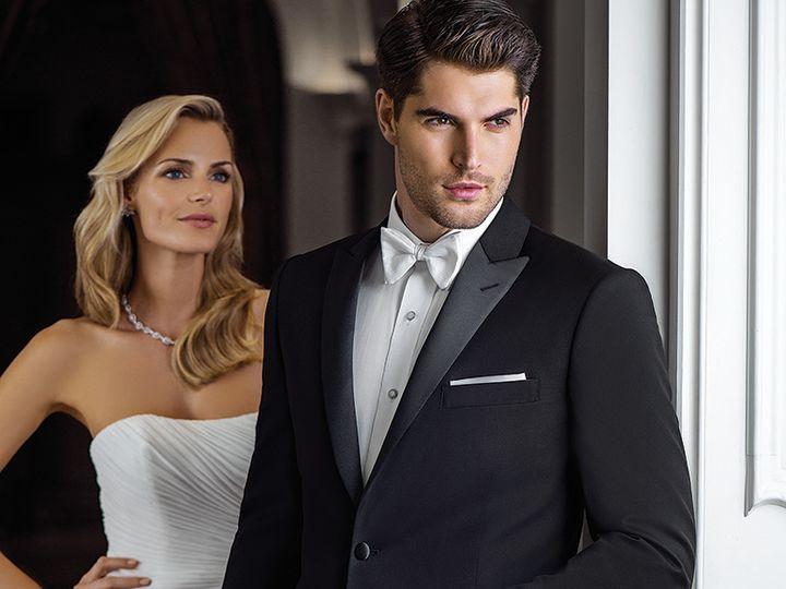 Tmx Ike Behar Slim Fit Peak Lapel Tuxedo Jackson 51 122270 Ridgewood, New Jersey wedding dress