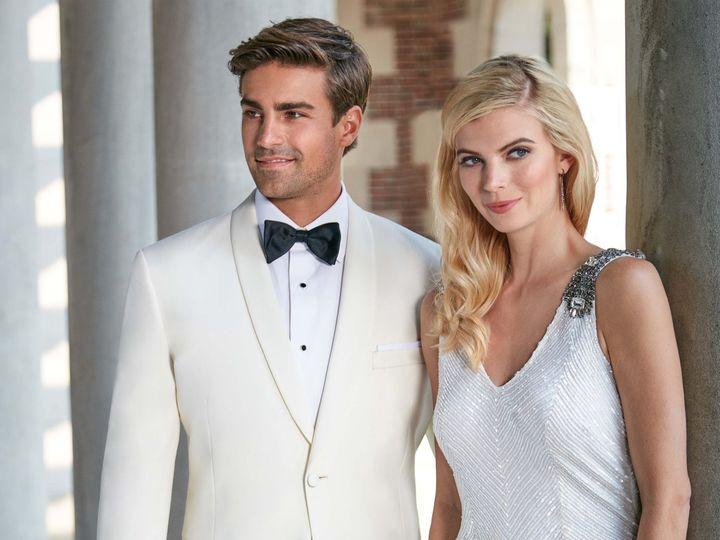 Tmx Ivory Dinner Jacket 51 122270 Ridgewood, New Jersey wedding dress