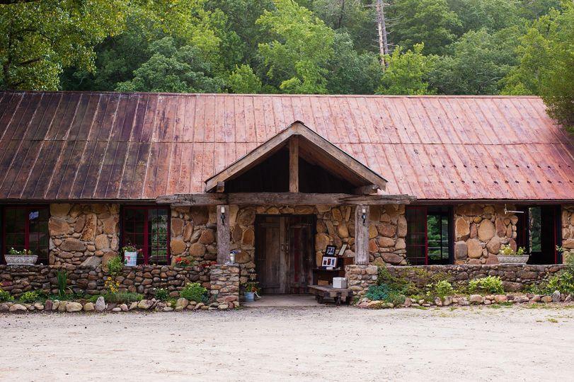 The rock pavilion