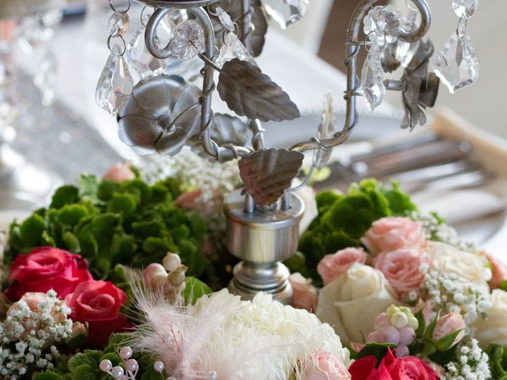 Tmx 1510170517511 Susan Strine Centerpiece Feather Snohomish, WA wedding florist