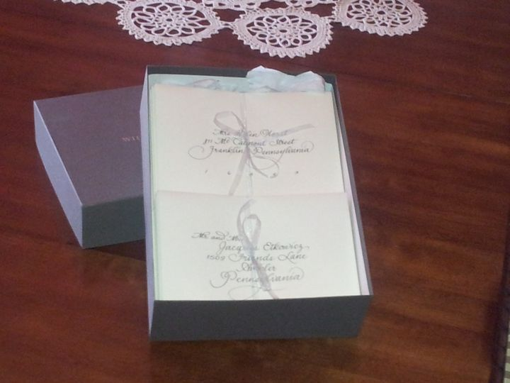 Tmx 1458002732089 Sandler Order Huntingdon Valley wedding invitation