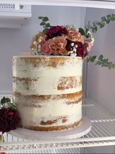 Rough rustic Naked cake