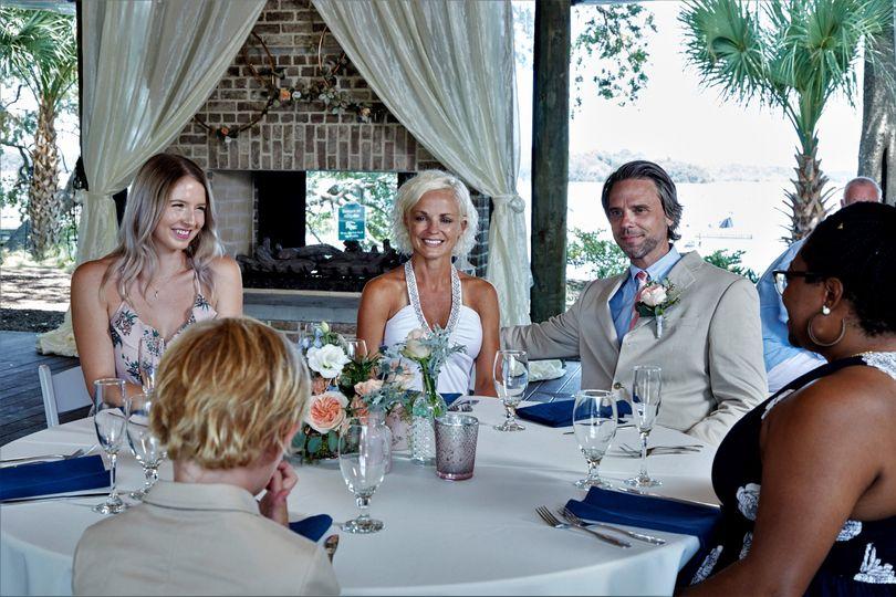 Waterside Wedding Reception
