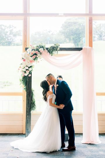 Indoor Ceremony - Hyland Hills*Tia & Cameron Photography