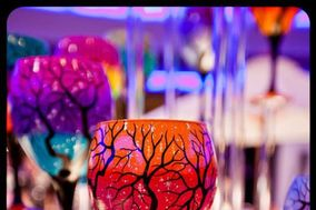 Wine Me? Hand Painted Glassware