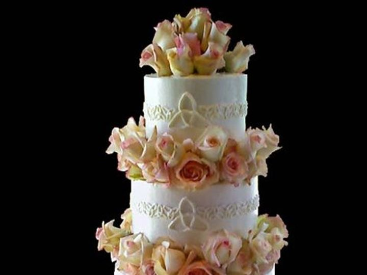 Tmx 1289840609751 Celticrosecake Lancaster wedding cake