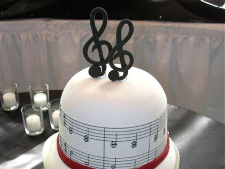 Tmx 1289840621579 Beautifulmusiccake Lancaster wedding cake